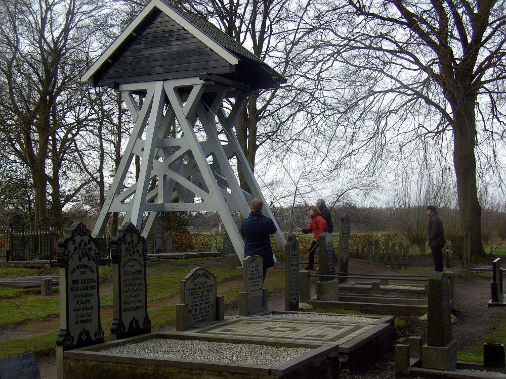 De klokkenstoel van Oudehorne (foto: David van Mill).