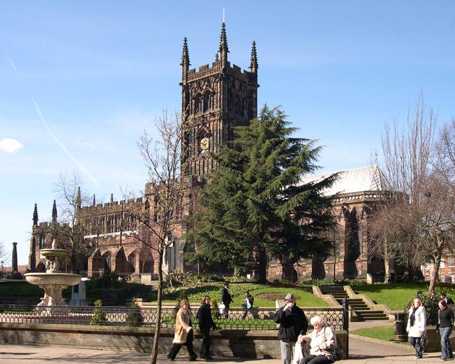 St. Peter's Collegiate Church.