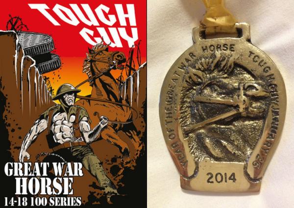 De spuuglelijke medaille van 2014, Year of the Great War Horse.