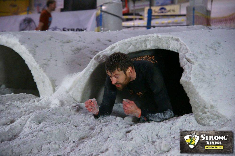 Gerwin bij de Snow Crawl.