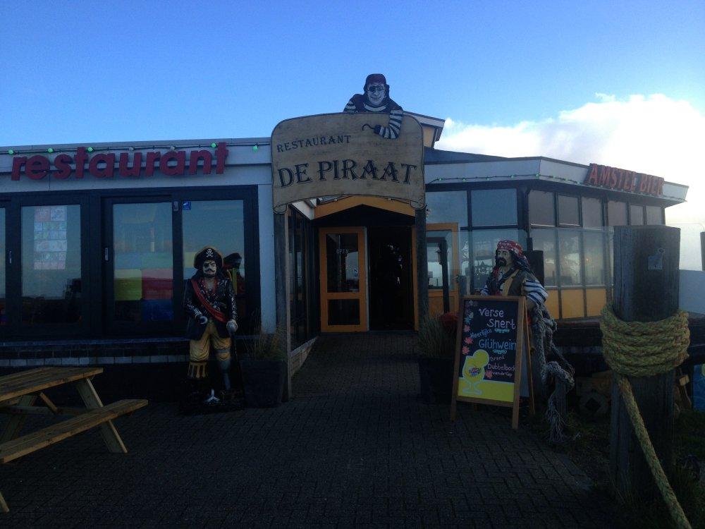 Restaurant De Piraat is voor ons bekend terrein.