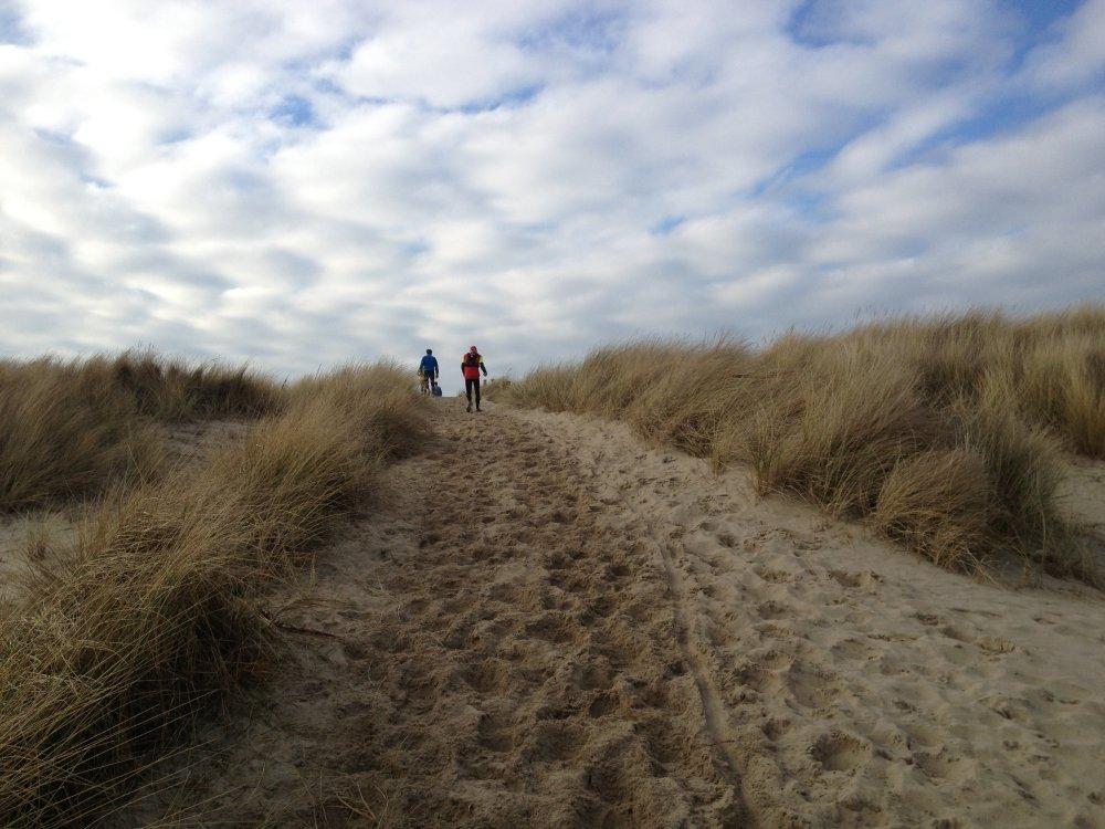Het strand, alweer.