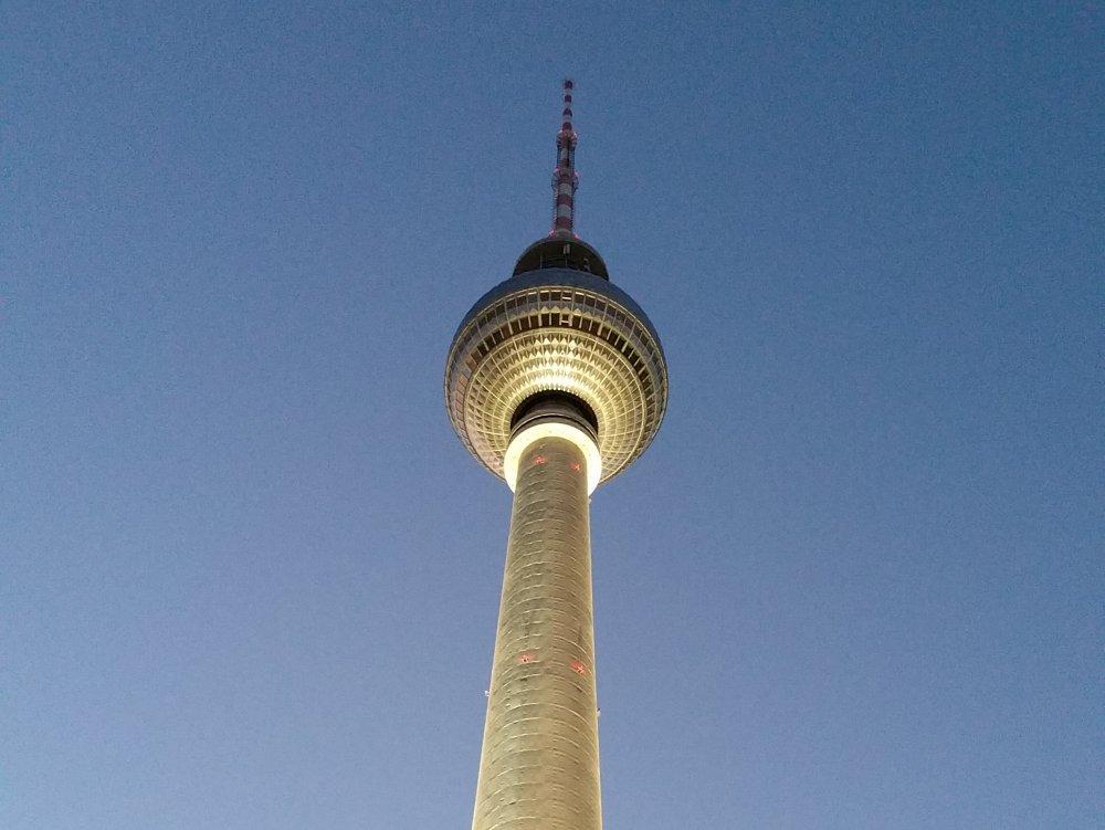De Fernsehturm.