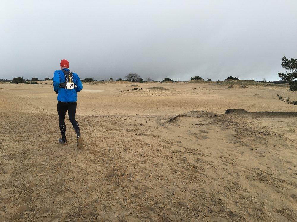 Over het mulle zand. (foto: Robert Jan)