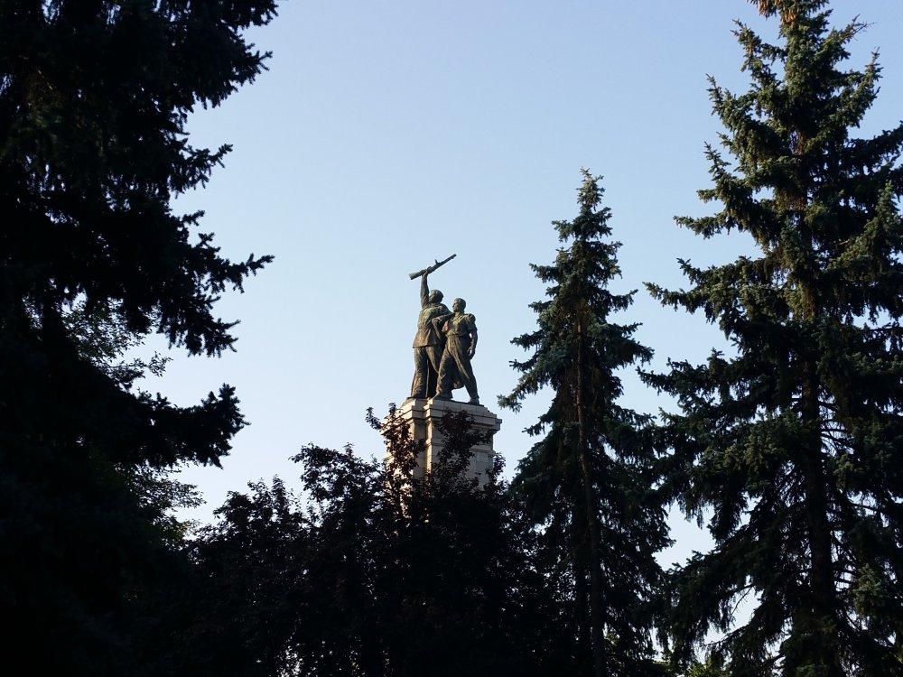 Monument voor het Sovjetleger.