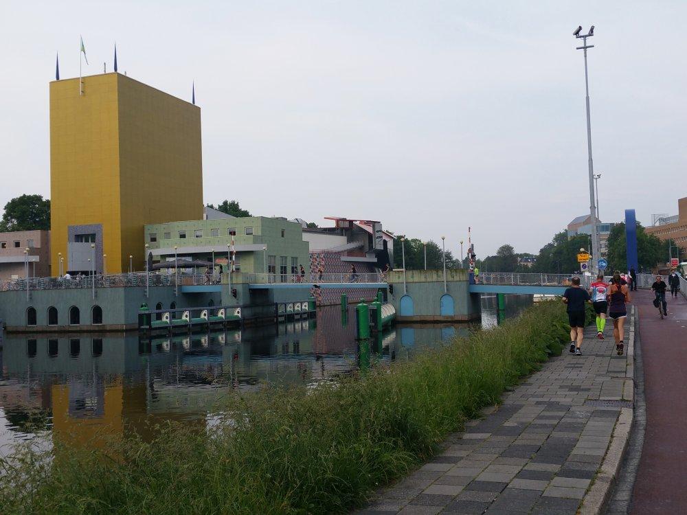 Het Groninger Museum.