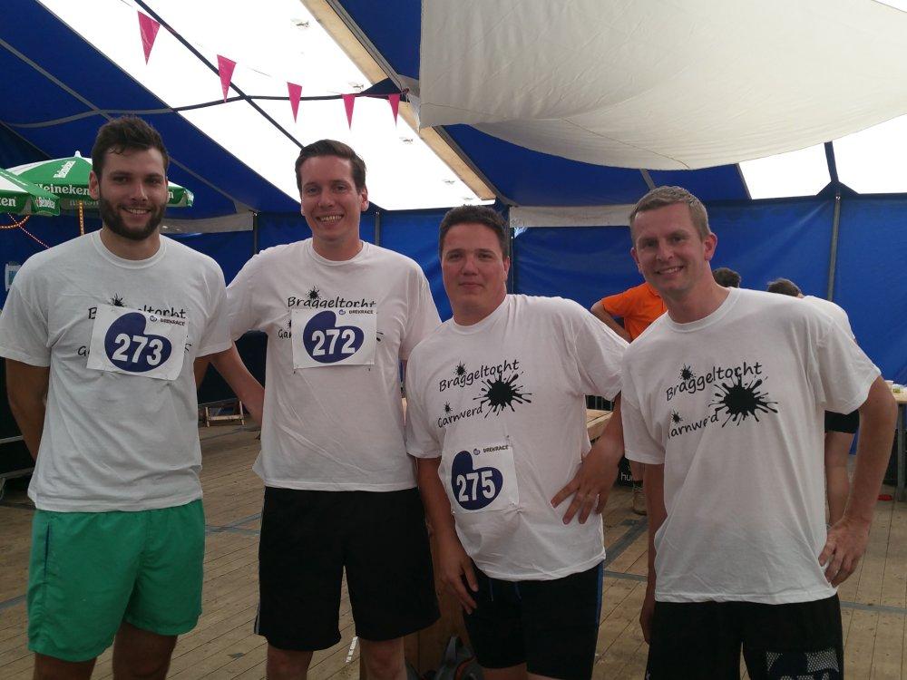 Maarten, Alexander, Jaap en Nico