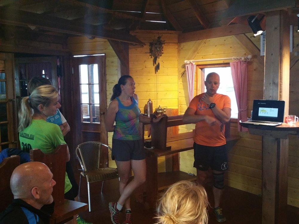 Elzo vertelt over zijn hardloopavontuur in Oostenrijk.