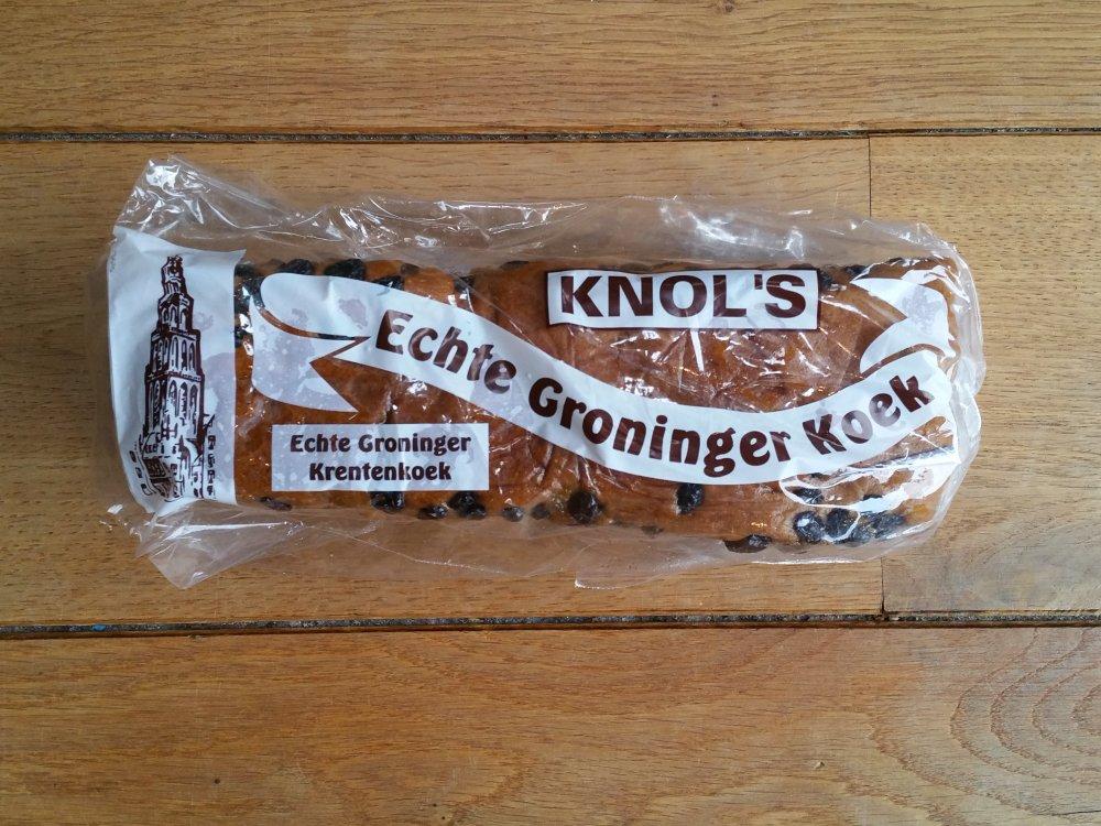 Echte Groninger Krentenkoek!